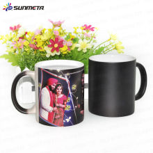 11oz sublimation ceramic magic photo color changing mug
